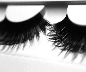 lashes, eyelashes, and eyes image