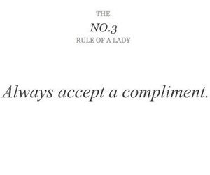 lady, rules, and quotes image