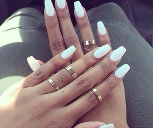 girl, matte, and rings image