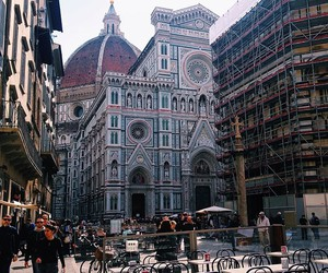 beautiful, cathedral, and florence image