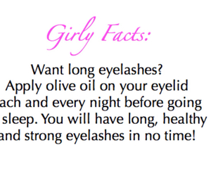 how to and girly facts image