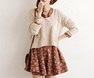 fashion, sweater, and dress image