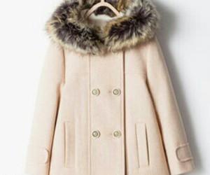 coat, fashion, and fluffy image