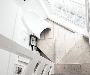 interior, stairs, and home image