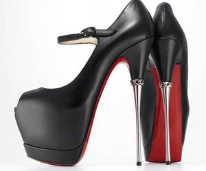 shoes, killerheels, and loubitons image