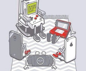 games, gameboy, and funny image