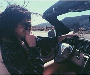 kylie jenner, car, and summer image