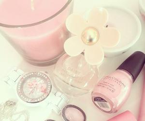 pink, girly, and makeup image