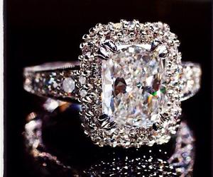 jewelry, diamond, and ring image