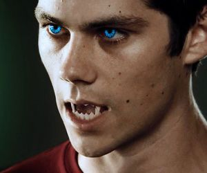 teen wolf, dylan o'brien, and werewolf image