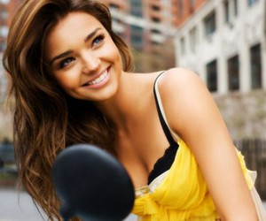miranda kerr, model, and smile image