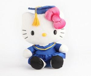 hello kitty and graduacion image