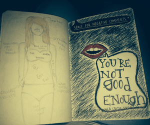 wreck this journal, negative comments, and you're not good enough image