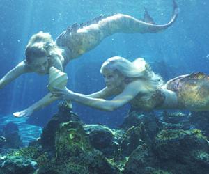 beautiful, mermaid, and mermaids image