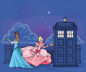 doctor who, disney, and princess image