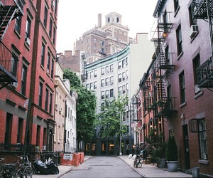greenwich village, new york, and nyc image