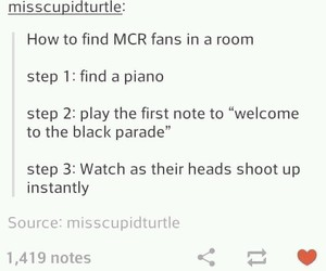 bands, funny, and mcr image