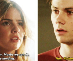 couple, funny, and teen wolf image