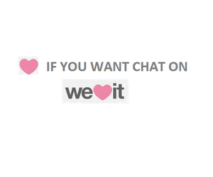chat, we heart it, and i want !!!! image