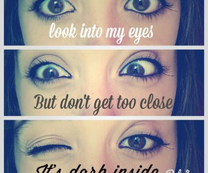 demons, eyes, and quotes image