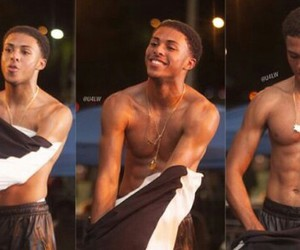 Hot, diggy simmons, and six packs image
