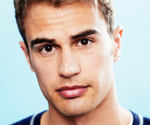 divergent, theo james, and Hot image