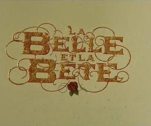 ask, beauty and the beast, and la belle et la bete image