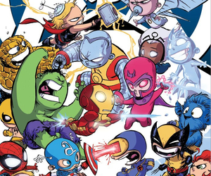 Avengers and x-men image