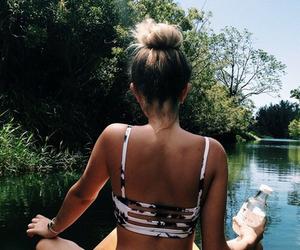 bikini, black, and fit image