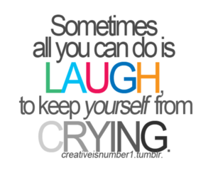 laugh, quote, and cry image