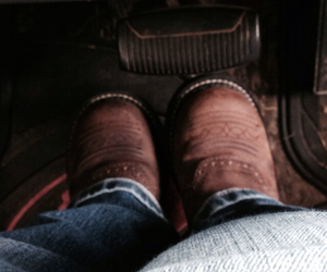 boots, cowboy boots, and ford image
