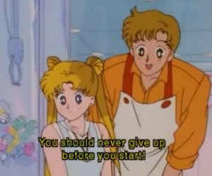 quote and sailor moon image