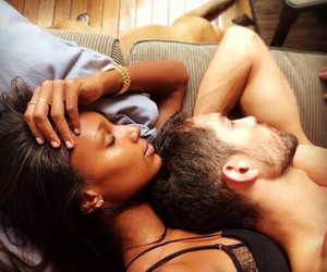 couple, interracial, and stunning image