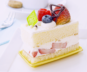 fruit, cake, and dessert image
