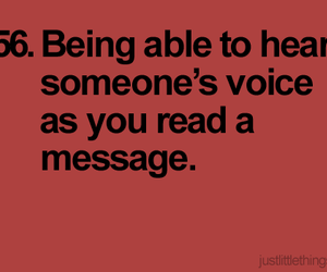 hear, message, and voice image