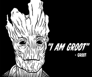 groot, guardians of the galaxy, and i am groot image