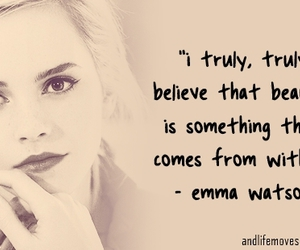 emma watson, quote, and beauty image