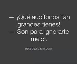 frases, music, and audifonos image