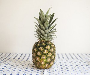 food, pineapple, and tropical image