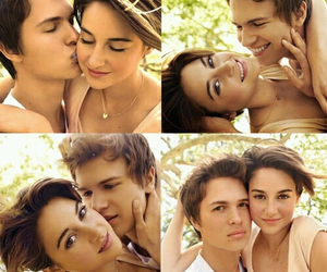 the fault in our stars, augustus, and couple image