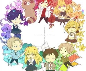 anime, colorful, and girl image