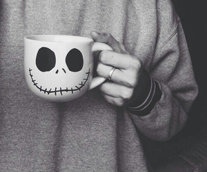 cup, fall, and heart image