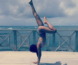 beach, Caribbean, and girl image