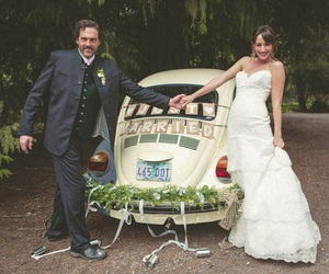 grimm, monroe, and wedding image