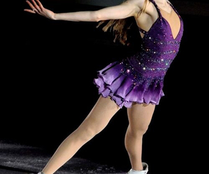 figure skating, ice skater, and ice skating image