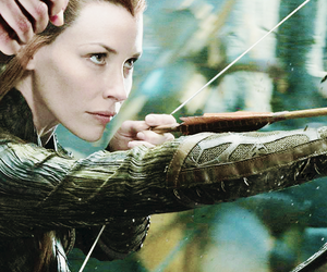 evangeline lilly, the hobbit, and elves image