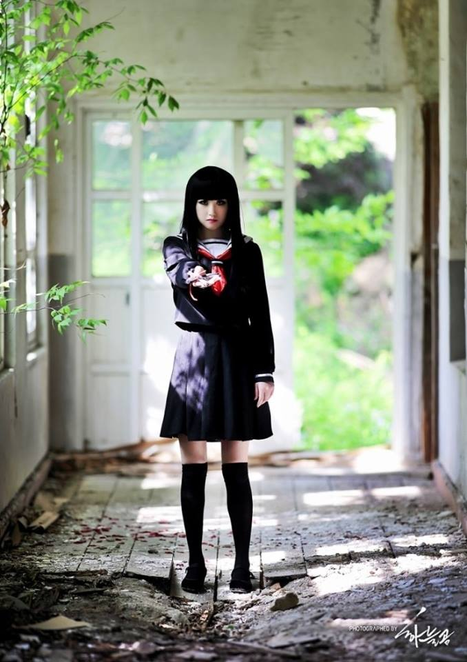 Hell Girl Ai Enma Cosplay Via Facebook On We Heart It