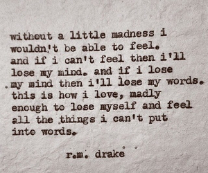 feelings, madness, and quotes image
