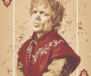 game of thrones, tyrion lannister, and card image