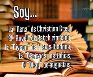 books, 50 sombras de grey, and christian grey image